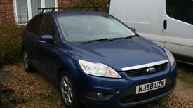 Ford Focus 1.6 TDCI ,NEW MOT, tax road only 30 per year.
