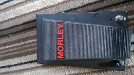 Morley Pro Series Wah Volume Stomp pedal - £20