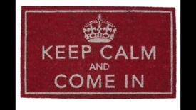 Non slip door mats