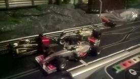 3 digital scalextric cars