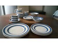 20 pieces, Vintage, cottage, breakfast set 1960-70's