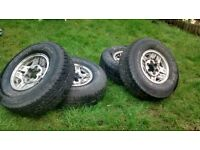 TOYOTA SURF ALLOYS NEED TLC