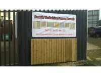 SOUTH YORKSHIRE FENCE PANELS PRICES FROM £20.00 PER PANEL