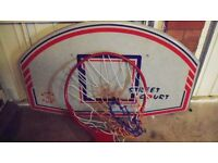 Basketball Back Board, Ring & Net