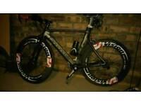 TT bike Cannondale slice 105 54 cm