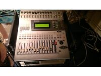 Yamaha 01v Mixer + Alesis LX20 Adat + DataSync + 19inch rack stand...