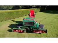 Ransomes 180D Ride on Mower