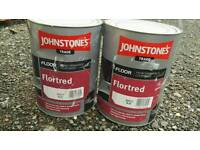 Johnstones safety blue floor paint