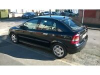 Vauxhall Astra for sale in black.