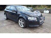 2009 Audi A3 1.4 TFSI 3 door *** damaged repairable ***