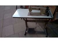 Brother DB2-B755-3 sewing machine and table(£200 to £600 on eBay) excellent central London bargain