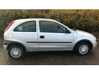 CHEAP VAUXHALL CORSA 1.0L (2001) 3 door family car, full year mot