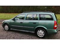 VAUXHALL ASTRA ESTATE 1.6L (2001) long mot car/van