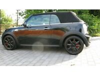 Mini Cooper S convertible Excellent throughout only 25000 miles