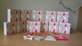 joblot 48 Christmas tree decorations