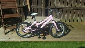 """Child's bike 16"""" pink ridgeback meldoy"""