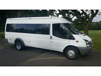2008 ford transit minibus 17 seater coif psv ready