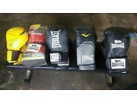 Boxing equipment job lot