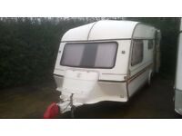 1993 ABI Viceroy GXL 4 berth caravan with FULL AWNING