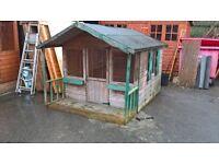 8' x 6' playhouse