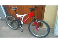 """Claud butler cbr blade 26"""" alloy mountain bike"""