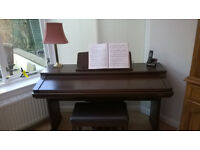 Technics PCM Digital Ensemble PR350 together with music stand and stool for sale.
