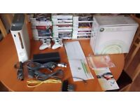 XBOX 360 Console with more than 50 Games