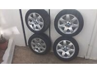 set of 4 alloy wheel's and tyres
