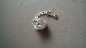 Pandora Two toned locket and key pendent charm Frankston Frankston Area Preview