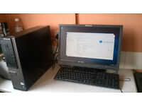 """Dell Optiplex 3010 Pentium Dual Core 19"""" Screen keyboard and mouse Windows 10 pro"""