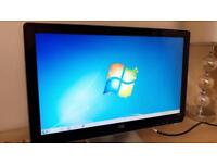 "HP 21.5"" LCD Monitor with Cables"