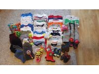 Bundle clothes for boys, age 12-24 months, good condition.