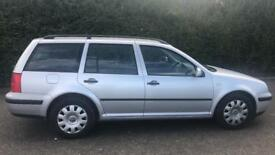 CHEAP DIESEL VW GOLF ESTATE SE TDI 1.9L (2001) full Year Mot