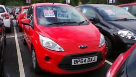 FORD KA HATCHBACK 1.2 Edge 3dr [Start Stop] (red) 2015