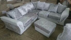 Free footstool free delivery on this brand new couch