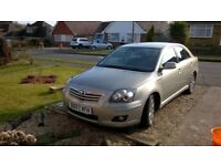 TOYOTA AVENSIS TR VVT-I -- FSH - RECENT NEW CLUTCH -FABULOUS CONDITION