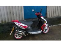 wasp R50 cc scooter for sale
