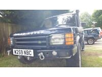 Land Rover Discovery 2 TD5 1 Years MOT AUTO 7 Seater