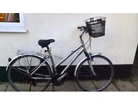 Aliminium Giant bike