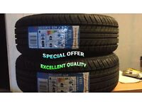 2 x185/55R 15 82H TRACMAX 2 TYRE'S INCLUDING FITTING BALANCING ONLY £60 NEW TYRE'S 1855515