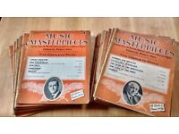 Music Masterpieces vintage music sheets