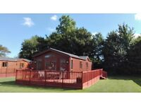 Woodland Holiday Lodge for sale at Yaxham Waters Holiday Park in rural Norfolk 30 mins from airport