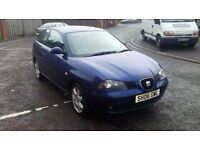 2006 seat ibiza 1.9 tdi (pd) sport only 90k miles service hsitory