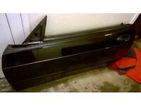Saab 900 cabriolet 1998 doors window glass window motors inserts