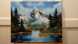 Original Oil Painting 16x20in.