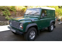 Land Rover Defender 90 2.5 TD5 Hard Top 3dr - Low mileage late Td5 just had full service and MOT.
