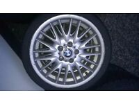 """BMW MVII 18"""" Alloys & Tyres"""