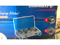 Campingaz stove 2 burner in box selling for £25 brand new