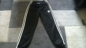 boys addidas tracksuit bottoms