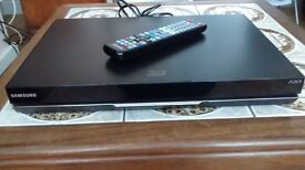 SAMSUNG BD-D8200M/XU 3D SMART BLUE RAY DISC PLAYER WITH HDD
